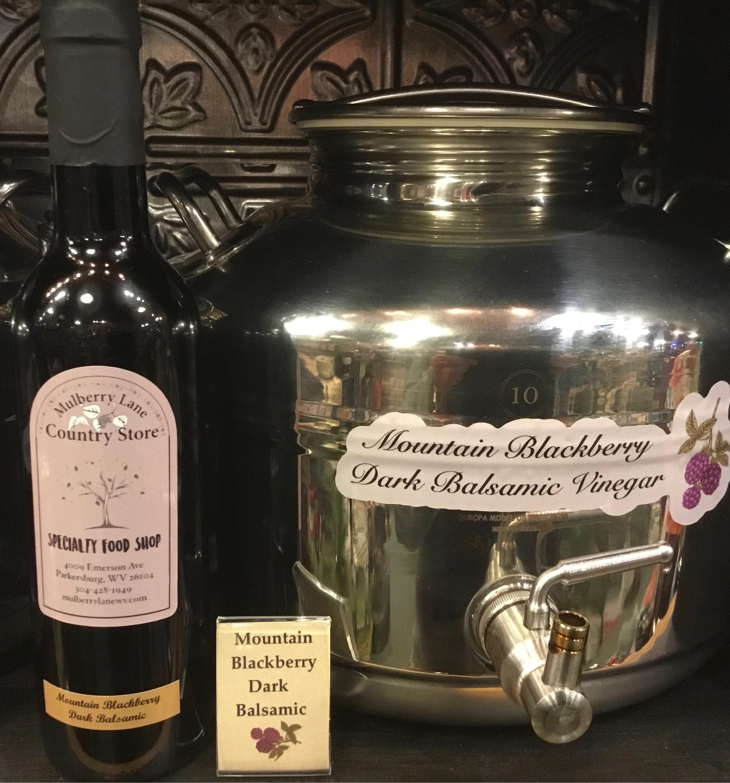 Mountain Blackberry Dark Balsamic Vinegar