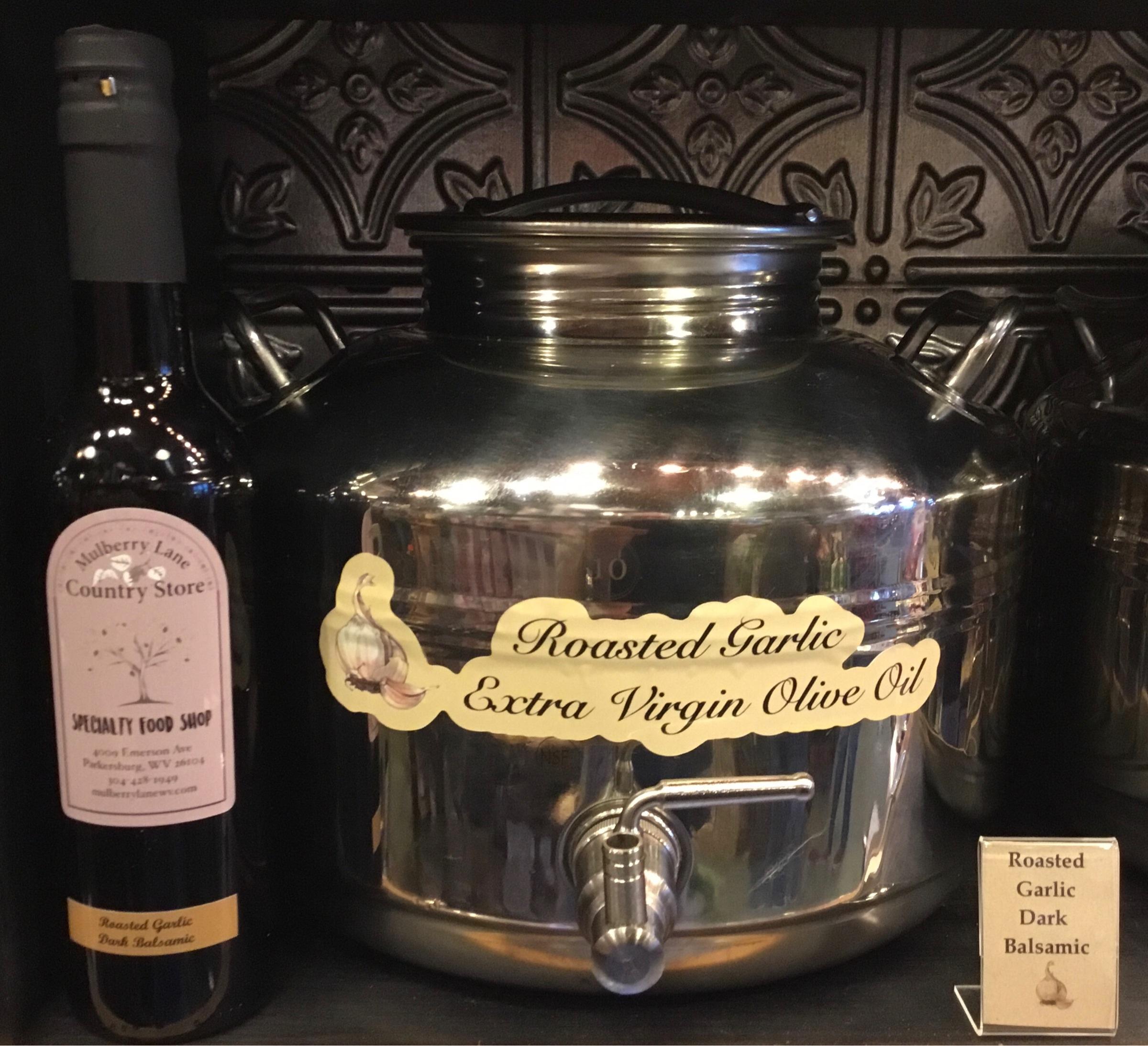 Roasted Garlic Dark Balsamic Olive Oil