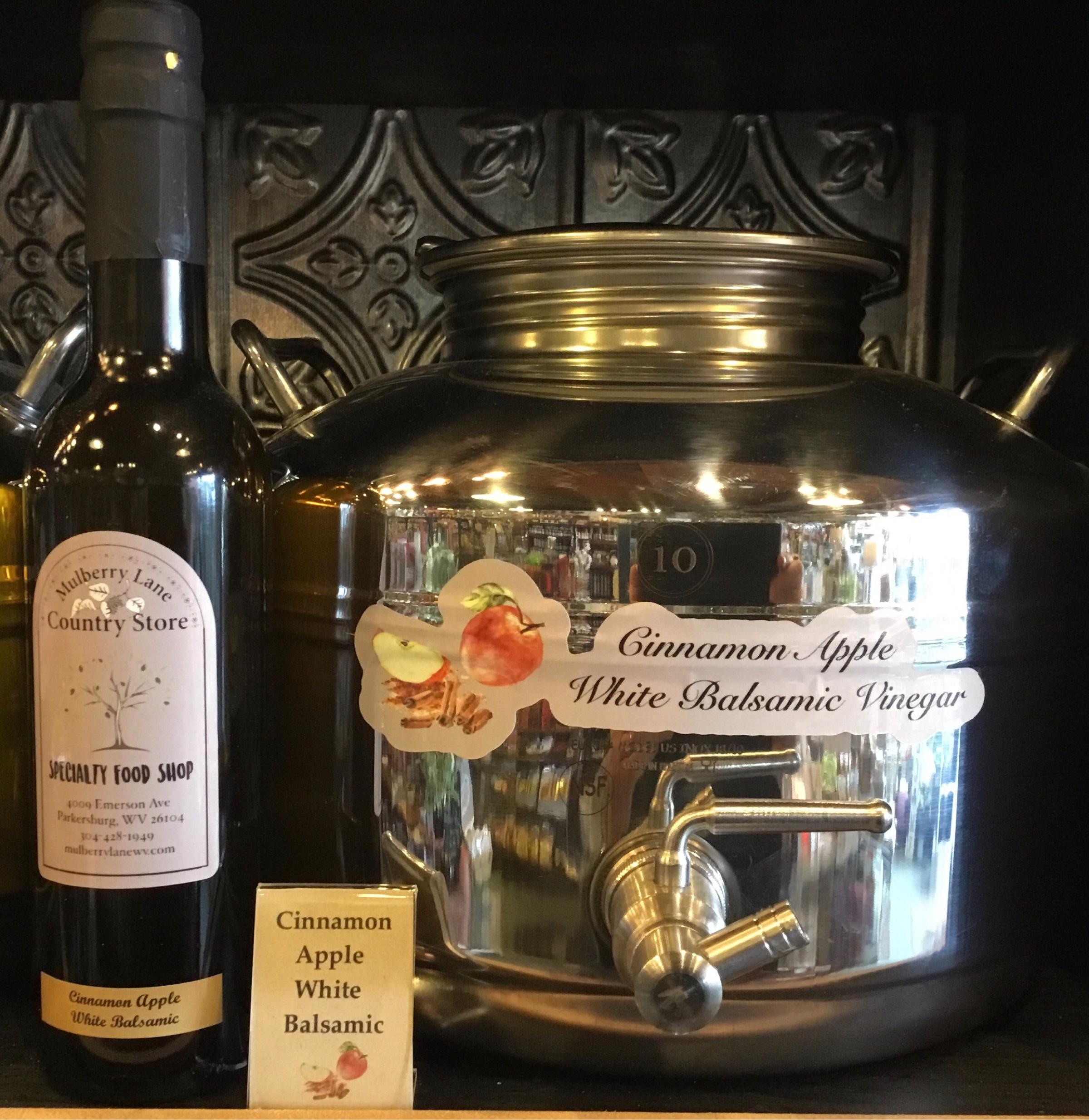 Cinnamon Apple White Balsamic Vinegar